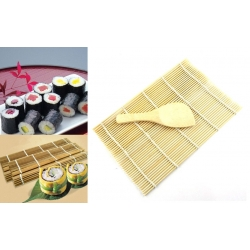 Suši gaminimo kilimėlis su lopetėle
