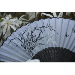 """Vėduoklė """"Orchidėja ir drugeliai"""""""