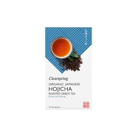 Ekologiška žalioji arbata HOJICHA CLEARSPRING