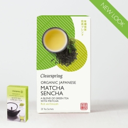 Ekologiška žalioji arbata MATCHA SENCHA CLEARSPRING