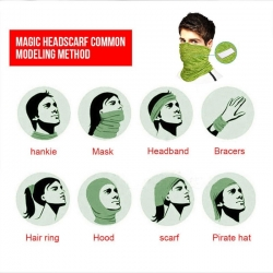 Multifunkcinė mova veido apsaugai, galvai ar kaklui