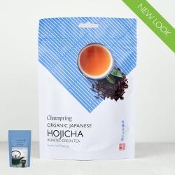 Ekologiška biri žalioji arbata HOJICHA CLEARSPRING